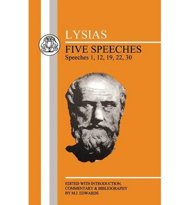 Five Speeches: 1, 12, 19, 22, 30
