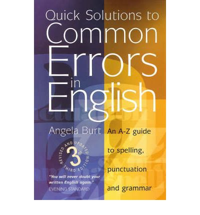 Quick Solutions to Common Errors in English