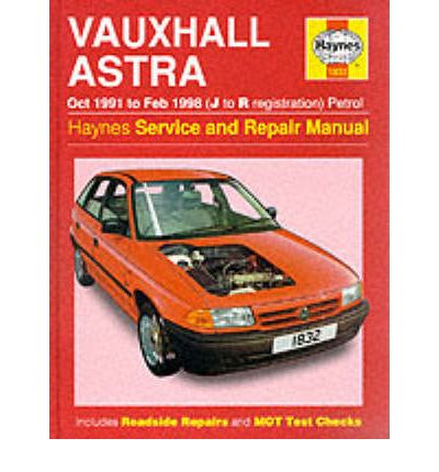 Vauxhall Astra (1991-98) Service and Repair Manual