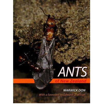 Ants of New Zealand  Hardcover  by Warwick Don