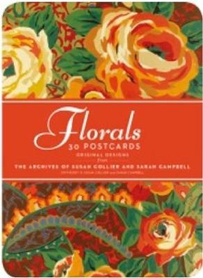 Florals: 30 Postcards: Original Designs from the Archives of Susan Collier Sarah Campbell