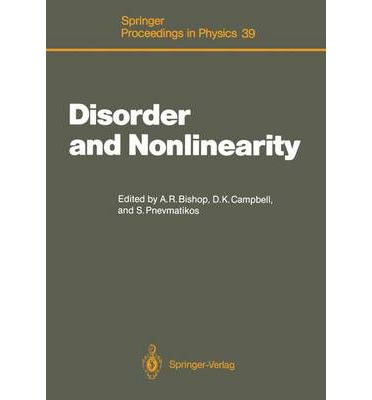 Kostenloser Download des eBooks im PDF-Format Disorder and Nonlinearity : Proceedings of the Workshop, J.R. Oppenheimer Study Center, Los Alamos, New Mexico, 4-6 May 1988 in German PDF iBook PDB 9783540513742