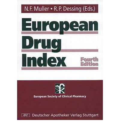 European Drug Index : European Drug Registrations
