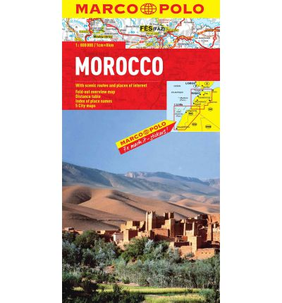 Morocco Marco Polo Map