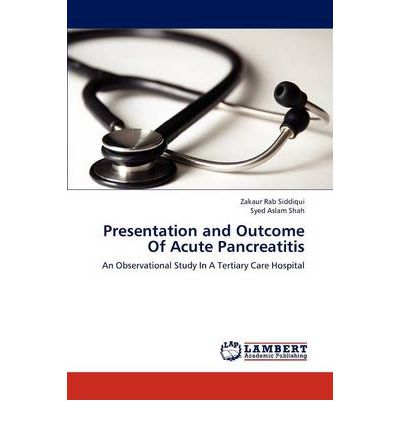 Presentation and Outcome of Acute Pancreatitis