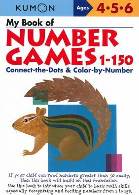 My Book of Number Games 1-150