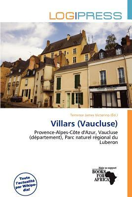 Ebooks descargas gratuitas epub Villars Vaucluse by Terrence James Victorino"