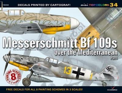 Messerschmitt BF 109s Over the Mediterranean: Pt. 1