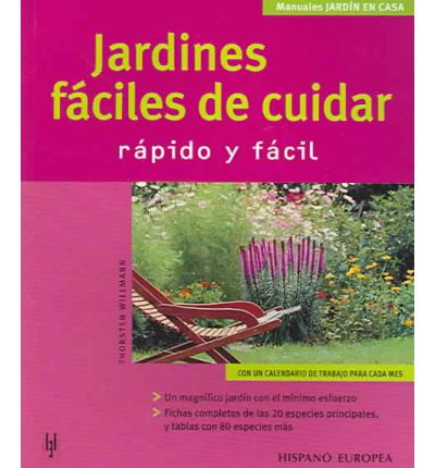 Jardines faciles de cuidar/ Easy to Maintain Gardens