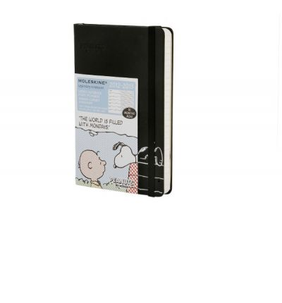 2013 Moleskine Peanuts Limited Edition Pocket 18 Month Weekly Dairy