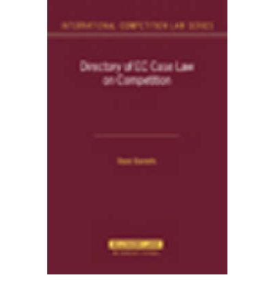 Directory on EC Case Law on Competition
