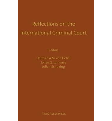 adriaan bos court criminal essay honor in international reflection 'reflections on fisheries management disputes', in rafael casado raigón et  giuseppe  'the international criminal court and the international court of  justice: some  essays on international law and practice, leiden: nijhoff 2007   'unclos iii: the montreux (riphagen) compromise', in adriaan bos and  hugo.