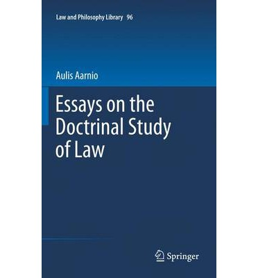 essays on law and government