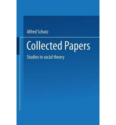 soc theory paper Unlike most theories of crime that focus on the individual, social disorganization theory focuses on place and tries to.
