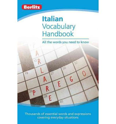 Italian Vocabulary Berlitz Handbook