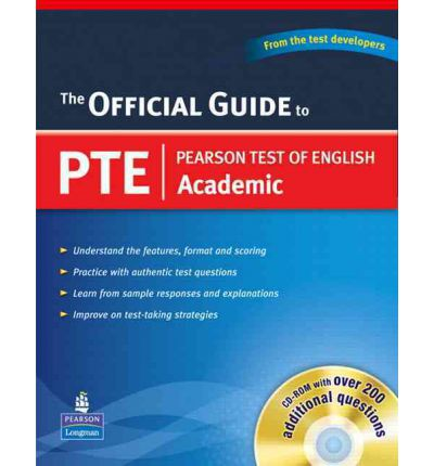 Official Guide to PTE Academic (with CD-ROM)