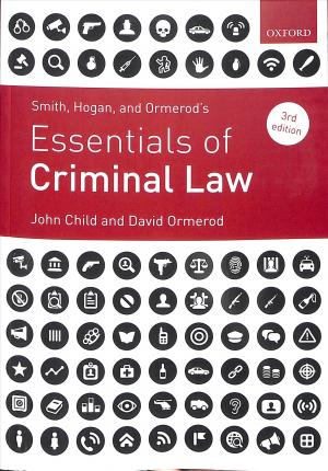 Smith, Hogan, & Ormerod's Essentials of Criminal Law