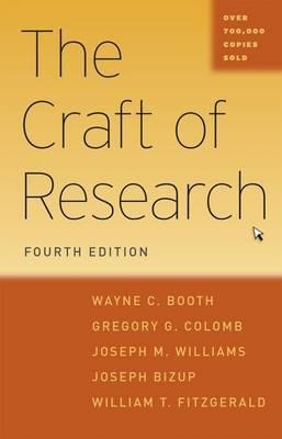 The Craft of Research, Fourth Edition