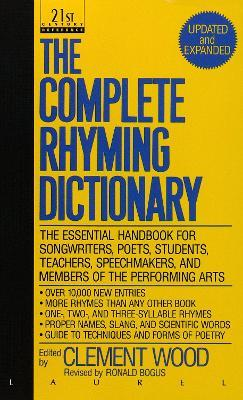 The Complete Rhyming Dictionary