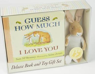 guess how much i love you board book and plush by sam mcbratney