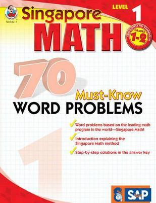 70 Must-Know Word Problems, Grades 1 - 2