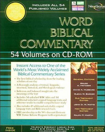 The Word Biblical Commentary on CD-ROM