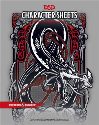 D&D Character Sheets by Wizards RPG Team