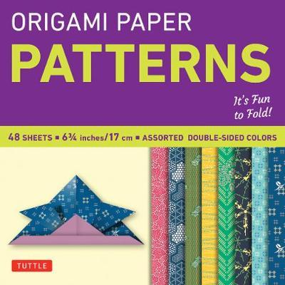 """Origami Paper - Patterns - Small 6 3/4"""" - 49 Sheets"""