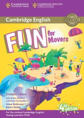 Fun for Movers Student's Book with Online Activities with Audio and Home Fun Booklet 4