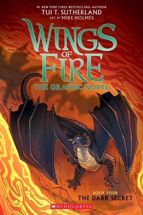 The Dark Secret (Wings of Fire Graphic Novel #4): A Graphix Book, 4
