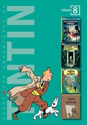 "The Adventures of Tintin: ""The Castafiore Emerald"", ""Flight 714 to Sydney"", ""Tintin and the Picaros"", ""Tintin and Alph Art"" v. 8"