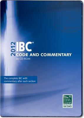 2012 International Building Code Commentary Combo (Vol. 1 & 2) CD ROM