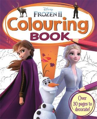 disney frozen 2 colouring book by igloo books
