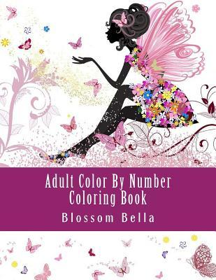 Adult Color by Number Coloring Book