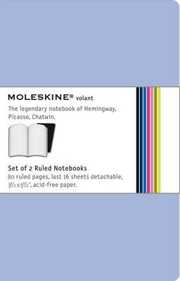 Moleskine Volant Pocket Ruled Antwerp Blue & Prussian Blue