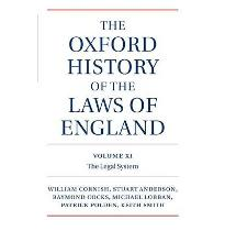 The Oxford History of the Laws of England: Volumes XI, XII, and XIII