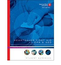 WORKBOOK STUDENT CPR HEARTSAVER AED