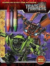Transformers: Revenge of the Fallen: Coloring and Activity Book and Crayons