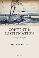 Content and Justification