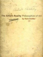 The Artist's Reality