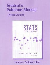 Student's Solutions Manual for Stats