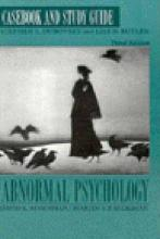 Abnormal Psychology: Casebook & Study Guide to 3r.e