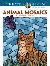 Creative Haven Animals Mosaics Coloring Book