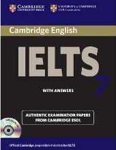 Cambridge IELTS 7 Self-study Pack (Student's Book with Answers and Audio CDs (2))