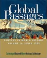 Global Passages: Since 1500 Volume II