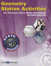 Geometry Station Activities for Common Core State Standards