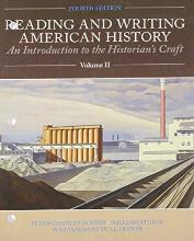 Reading and Writing American History, Volume 2
