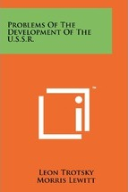 Problems of the Development of the U.S.S.R.