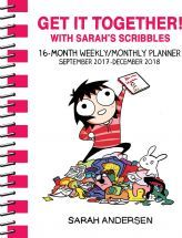 Sarah's Scribbles 2017-2018 16-Month Weekly/Monthly Planner