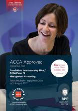 FIA Foundations in Management Accounting FMA (ACCA F2)